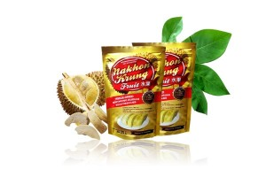 Freeze Dried Mon Thong Durian