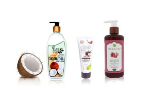 Coconut Oil Cream & Lotion