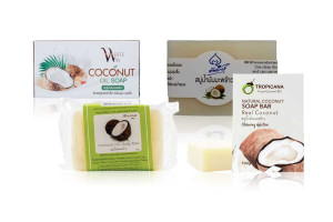 Best Selling Coconut Oil Soap from Thailand