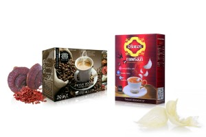 Instant Healthy Coffee from Herbs and Other Ingredients
