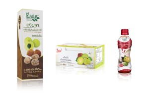 Triphala Drink  or Three Herbal Fruits Mixed Drink