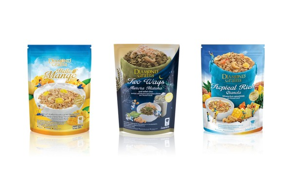 DAIMOND GRAINS Granola in Variety of Flavors