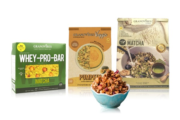 GRANOVIBES Granola in Various Flavors