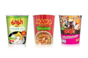 MAMA Instant Cup Noodles with Variety of Flavors