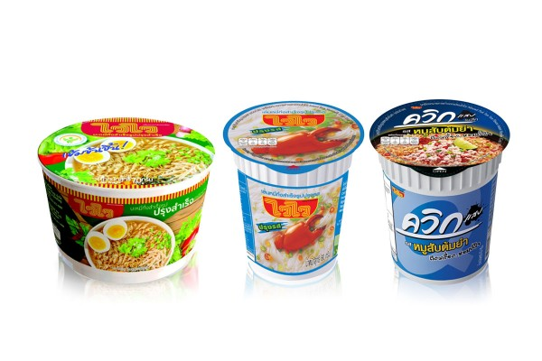 WAIWAI Instant Cup Noodles with Variety of Flavors