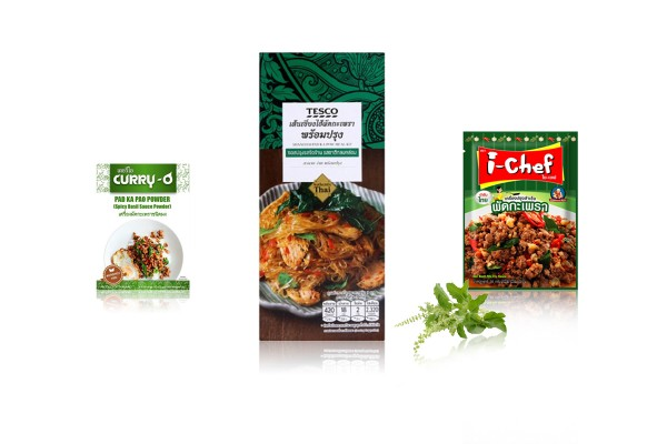 Ready-to-Cook Pad Ka Prow' or Holy Basil Stir-Fry Meal Kit