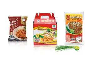 Ready-to-Cook Stir-Fried Noodle Thai Korat style  or Pad Thai Korat