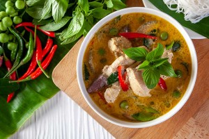 Ready-to-Eat Green Curry