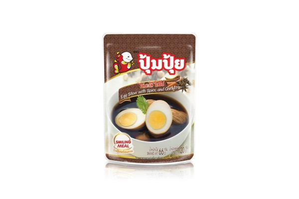 Egg Stew with Spice and Chicken