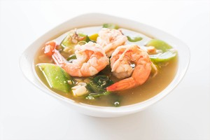 Instant Powder or Soup for Thai Spicy Mixed Vegetable or 'Kaeng Lieng'