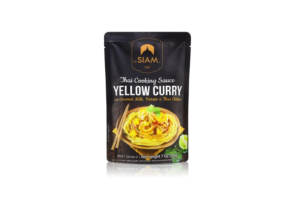 DESIAM Yellow Curry Paste - 200 g