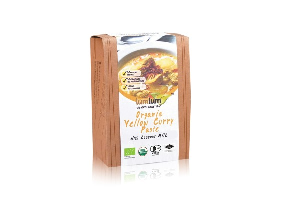 LUMLUM Yellow Curry Paste - 100 g