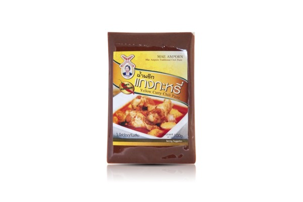 MAE AMPORN Yellow Curry Paste - 100 g