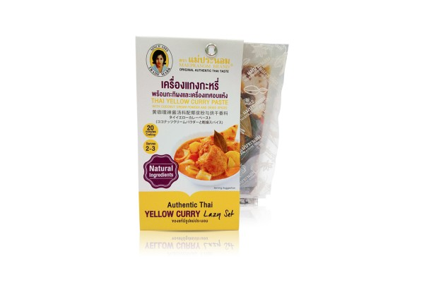 MAE PRANOM Yellow Curry Paste - 150 g