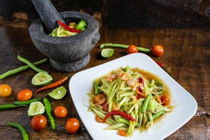 Instant Sauce or Powder for Papaya Salad or 'Som Tum'