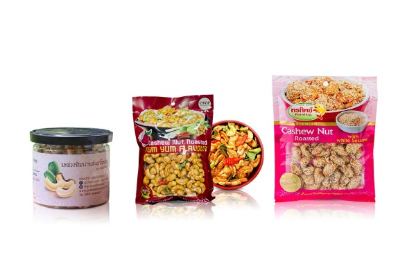 Cashew Nuts Snacks in Assorted Delicious Flavors from Thailand