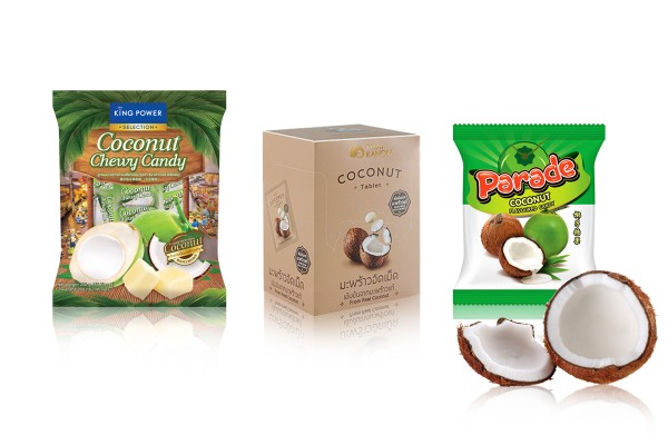 Coconut Candies & Toffees