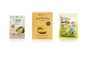 Durian Tablets or Milk Tablets Durian Flavor