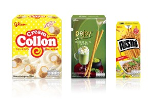 Popular Glico Snacks from Thailand