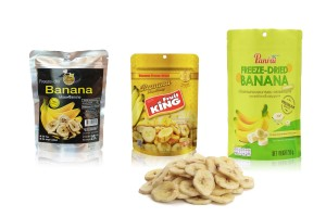 Freeze Dried Banana Chips