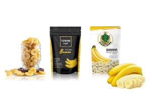Freeze Dried Banana Chips