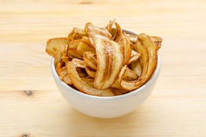 Crispy Fried Banana Chips