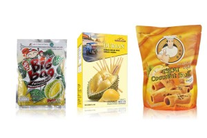 Other Snacks Made with Durian or Durian Flavor