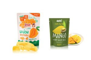 Crispy Freeze Dried Mango