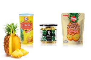 Snacks with Pineapple Filling
