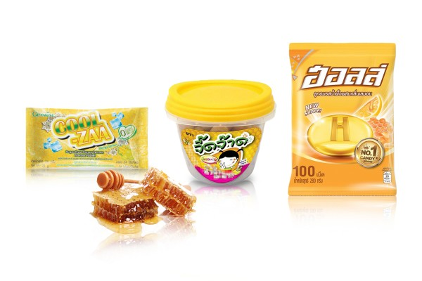 Candies, Toffees and Lozenge Infused with Honey