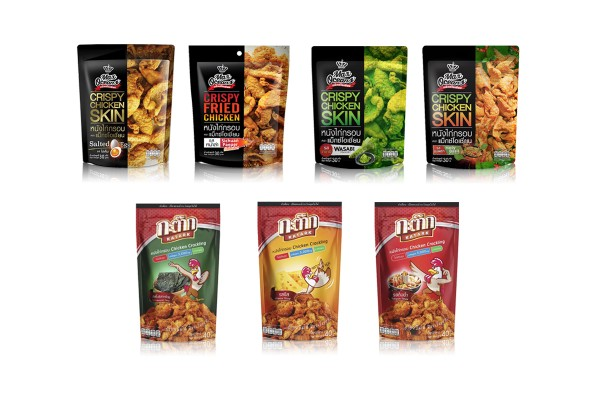 Crispy Fried or Baked Chicken  Skin in Assorted Flavors