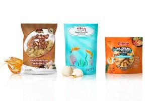Crispy Shrimp Chins or Shrimp Heads Snack