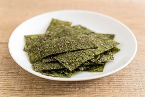 ฺBaked or Fried Crispy Seaweed Sheet
