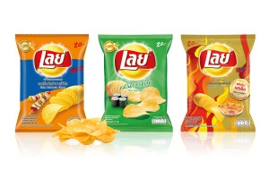 LAYS Potato Chips in Variety of Flavors