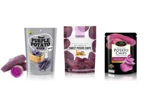 Crispy Sweet Potato Chips, Multi Brands