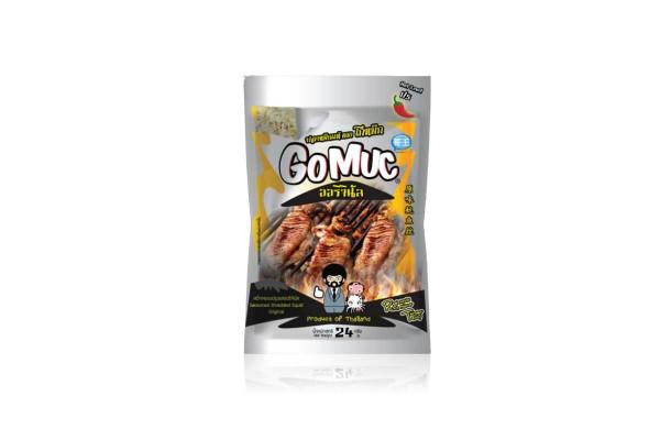 GOMUC, Seasoned Shreded Squid, Original - 24 g