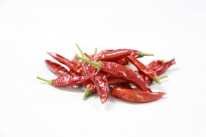 Dried Chili Produced with Good Agricultural Practice
