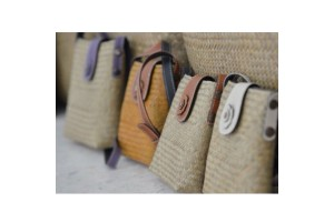 Charming Woven Products Made by Local Material