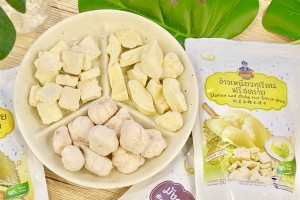 Durian and Sticky Rice Freeze Dried 100% Natural Ingredients