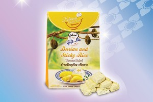 Gift-Me Durian and Sticky Rice Freeze Dried