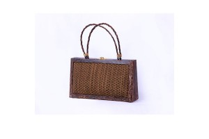 Handmade Woman Bag Made from Natural Fan Palm