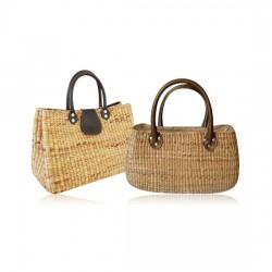 Water Hyacinth Handmade Bucket Bag