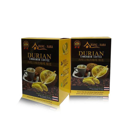 Healthy Coffee Mix With Durian & Cinnamon