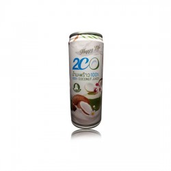 2CO Coconut Juice Mixed with Coconut Milk. Delicious Natural Taste