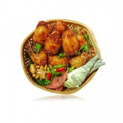 Norther Eastern Thai Style Herbal Pork Sausages