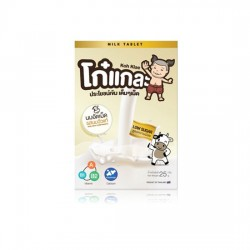 Low Sugar Powdered Milk Tablet