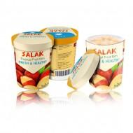 Delectable Tropical Thai Fruit Gelato Cup Ice Cream