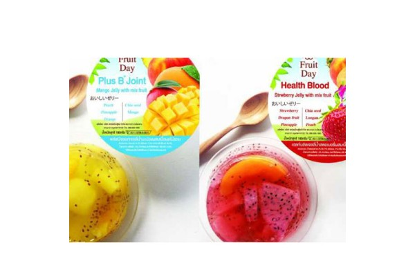Premium Grade Fruit Jelly with Real Fruits