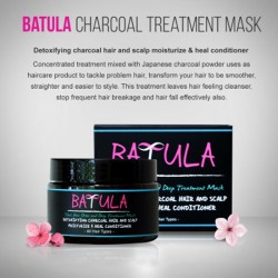 Batula Charcoal Hair Treatment
