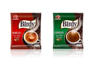 BIRDY, Rich Flavored Robusta Instant Coffee